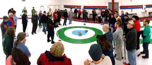 Curling School Ice