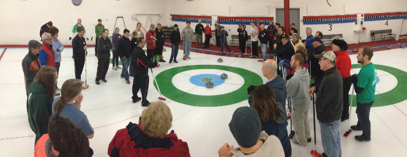 curling lesson